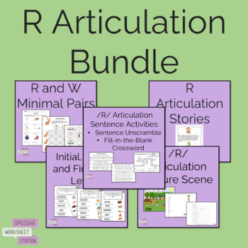 /R/ Articulation Bundle