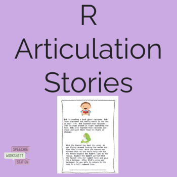 /R/ Articulation Practice: Sentences and Reading