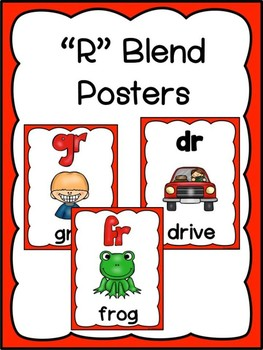 """""""R"""" Blend Posters"""