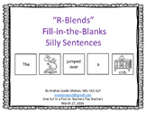 """""""R-Blends"""" Fill-in-the-Blanks Silly Sentences"""