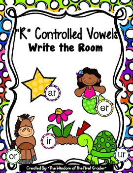 """""""R"""" Controlled Vowel, Write the Room"""