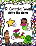 """R"" Controlled Vowel, Write the Room"