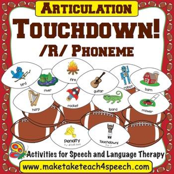 /R/ Phoneme - Touchdown!
