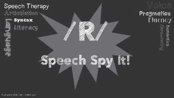 /R/ Speech Spy It!