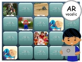 R Vocalic AR - PowerPoint Memory Games - Articulation - Digital - Teletherapy