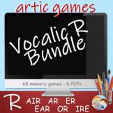 R Vocalic - PowerPoint Memory Games Bundle - Articulation