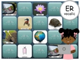 R Vocalic ER - PowerPoint Memory Games - Articulation - Digital - Teletherapy