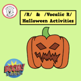 /R/ and /Vocalic R/ Halloween Activities : Boom Cards