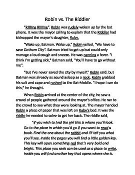 /R/ initial short Story