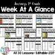 {RAINBOW} Journeys 2nd Grade Focus Wall Set + Editable Labels