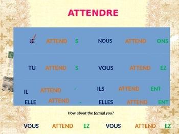 -RE Verb Conjugation - PP Lesson