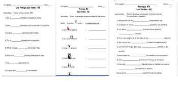 -RE Verb and Conjugation Classroom Activities