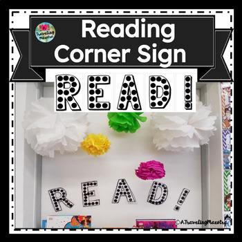 """""""READ"""" Letters for Reading Corner"""
