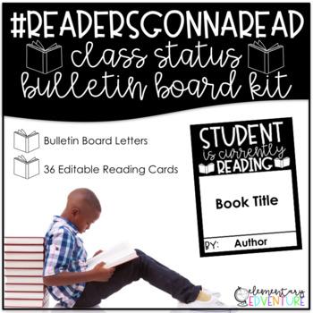 #READERSGONNAREAD - An Interactive Reading Bulletin Board