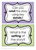 {READING} Higher Level Questions Task Cards