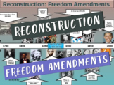 . RECONSTRUCTION! (Part 1 Freedom Amendments) highly visual, textual, engaging