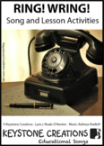 'RING! WRING!' ~ MP3: READ,SING & LEARN About technology &