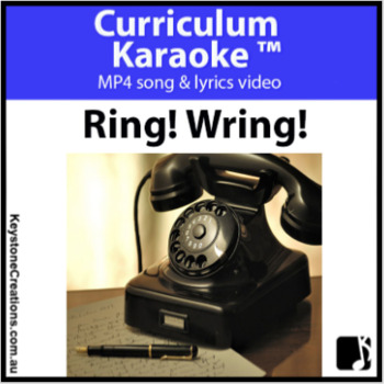'RING! WRING!' (Grades 3-7) ~ READ, SING & LEARN about Technology