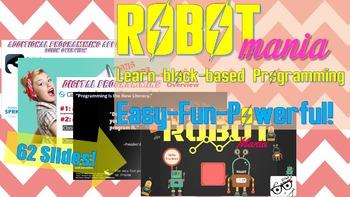 Robotics: ROBOTmania - Block-based Programming/Coding made Easy!