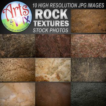 """Stock Photos - """"ROCK Textures"""" - Rock Photo Pack BUNDLE - Arts & Pix"""
