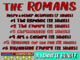 . ROMAN EMPIRE UNIT - (all 6 parts!) Highly visual, engaging, 79-slide PPT