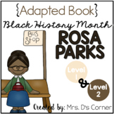 Rosa Parks - Black History Month Adapted Book [Level 1 and