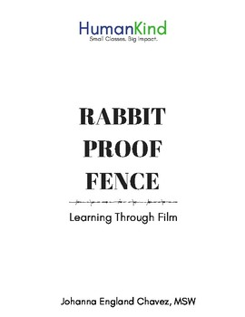 Rabbit Proof Fence Teaching Resources