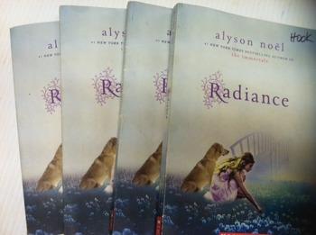 """Radiance"" books, by Alyson Noel - Literature Circle Set"