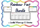 ***Rainbow Fact Warm UP BUNDLE! ***