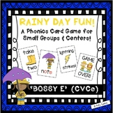 """Rainy Day Fun!""~ A Rain-Themed 'BOSSY E' Phonics Game for Spring or Rainy Days"