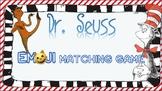 Read Across America Dr. Seuss Emoji Matching Game