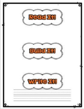 """""""Read It, Build It, Write It"""" Mats"""