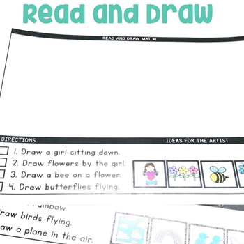 """""""Read and Draw"""" Center for July"""