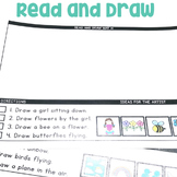 """Read and Draw"" Center for July"
