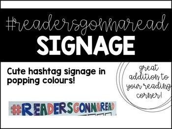 #ReadersGonnaRead sign