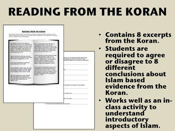 """Readings from the Koran"" - Islam - Global/World History"