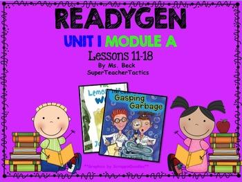 **ReadyGen 3rd Grade Unit 1 PowerPoint, Module A, Lessons 11-18**
