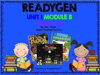 **ReadyGen 3rd Grade Unit 1 PowerPoint, Module B, Lessons 1-10*