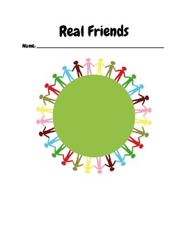 """""""Real Friends""""- Chapter-by-Chapter Reading Comprehension Questions"""