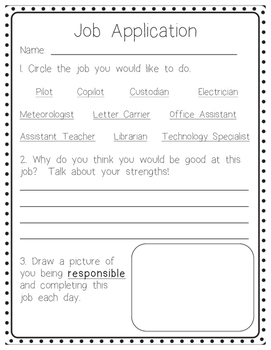 """Real Life"" Classroom Jobs Packet"
