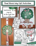 """Real Stuck, Way Up In The Apple Tree"" Activities & Apple Craft"