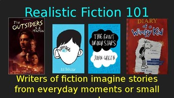 """Realistic Fiction 101"" PowerPoint"