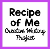 """Recipe of Me"" Creative Writing Project"