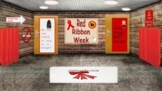 Red Ribbon Week Door Contest Bitmoji Virtual Classroom Template