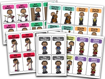 Don't Be a Square, an Old Maid Card Game for the Music Room
