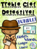 Treble Clef Practice BUNDLE