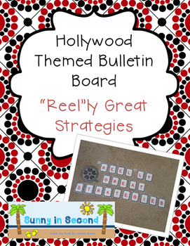 """Reel""ly Great Strategies - Hollywood Themed Bulletin Board"