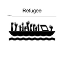 """""""Refugee"""" by Alan Gratz- Reading Comprehension Questions"""