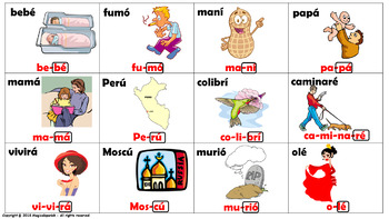 """""""Reglas de acentuación en español (2) How to mark the graphic accent in Spanish."""
