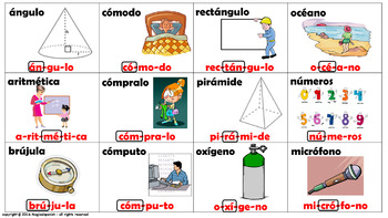 """Reglas de acentuación en español (4) /How to mark the graphic accent in Spanish"